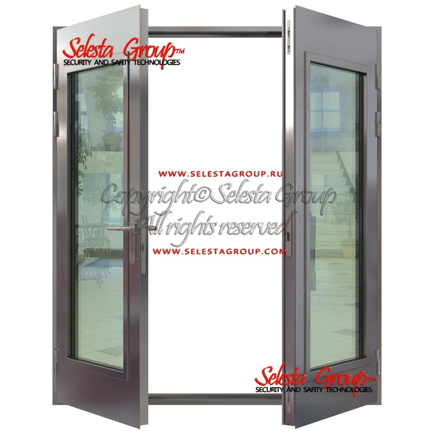 двери металлические распашные недорого